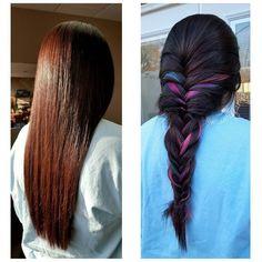 Mechones unicornio sorpresa   17 Tintes coloridos para el cabello que puedes usar para ir a trabajar