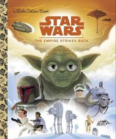 The epic space saga, Star Wars: The Empire Strikes Back , is finally retold in the iconic Little Golden Book format! After the destruction of the Death Star, the Empire has regroupedwith Darth Vader l