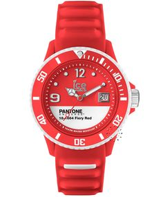 ICE Pantone Universe Collection Fiery Red Rubber Strap Η τιμή μας: 89€ http://www.oroloi.gr/product_info.php?products_id=34512