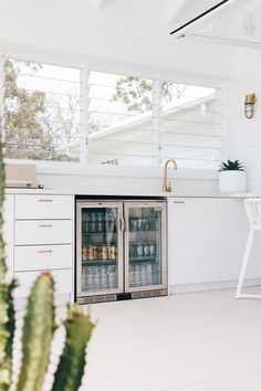 Outdoor Bbq Kitchen, Outdoor Living Rooms, Hamptons House, Home Reno, Bathroom Interior, Design Bathroom, Bathroom Ideas, Home Fashion, Building A House