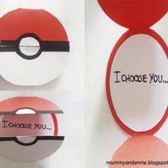 pokemon, diy, and ideas Bild Pokemon Gifts, Pokemon Craft, Pokemon Party, Pokemon Go, Valentine Day Cards, Valentines Diy, Pokemon Valentines, Printable Valentine, Free Printable