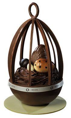 Amazing chocolate egg❥ via #martablasco ❥ http://pinterest.com/martablasco/