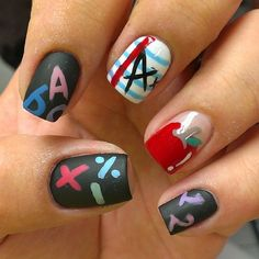 Tus uñas merecen regresar a clases con estos diseños.