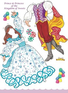 Welcome to Dover Publications / Nutcracker Ballet Paper Dolls with Glitter! / Eileen Rudisill Miller