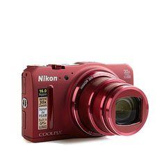 Nikon COOLPIX 16MP 30X Zoom Full HD Wi-Fi Camera w/Case