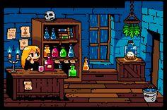 Pixelart animado por 1041uuu