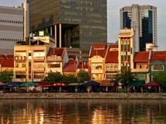 Shophouses by Singapore River