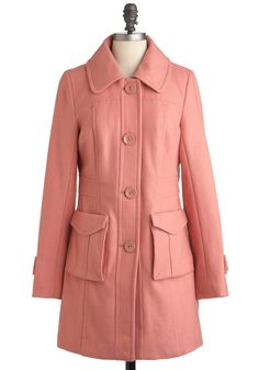 Petal to the Park Coat by Tulle Clothing #modcloth