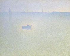 The Seine at Dawn - Charles Angrand