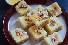 Simple Milk Powder Burfi Recipe - A very simple and easy dessert recipe made in a jiffy with the milk powder. Milk Recipes, Spicy Recipes, Sweets Recipes, Vegetarian Recipes, Cooking Recipes, Diwali Recipes, Simple Pudding Recipes, Easy Ramadan Recipes, Yummy Recipes