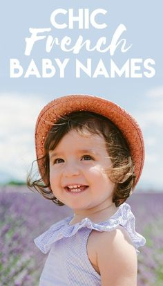 Why not bestow your new baby with a name that carries that uniquely French je ne sais quoi? Whether you're expecting a boy or a girl, we've rounded up our favorites and what they mean. If you want to find a name that is both adorable for a child and sophisticated for an adult, these gems will fit the bill. They also happen to be super unique in the States. Perhaps your little boy will be a Clement or a Remi, maybe your little girl will be a Fayette or Brigitte. Baby Names And Meanings, Names With Meaning, Badass Names, New Baby Products, Beauty Products, French Names, Name Inspiration, French Baby, American Baby
