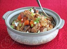 Asian Chicken Stew in a Crockpot Recipe - Jeanette's Healthy Living
