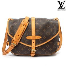 Louis Vuitton Coated Canvas Saumur 30 Monogram Shoulder Bag - Brown When it comes to style, you're in a class of your own--never bending to the fair-weather trends. Your image is your voice without saying a word. Each item you invite into your wardrobe follows an unspoken mantra of timeless appeal. From everyday wear to cherished treasures, personality is key. This Louis Vuitton bag is the perfect example of what you value most in your accessories: quality, exclusivity, and the most…