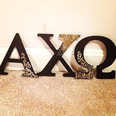 Alpha Chi Omega Letters • AXO • Sorority