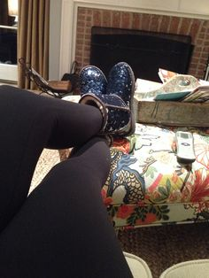 My sparkly blue uggs