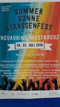 Sommerfest Neuaubing-Westkreuz 23. Juli 2016 #dasistaubing