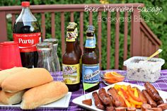 Beer Marinated Sausage