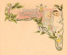 Antique Images: Free Baby Graphic: Vintage Baby Illustration from Vintage Baby Book Quaint Thoughts