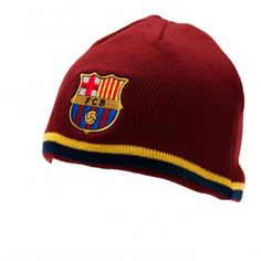 FC Barcelona - Reversible Knit Hat 32042ebd1c8