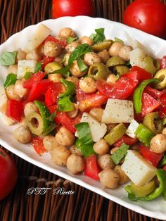 Italian Recipes, New Recipes, Vegetarian Recipes, Healthy Recipes, I Love Food, Good Food, Fast And Slow, Finger Foods, Food And Drink