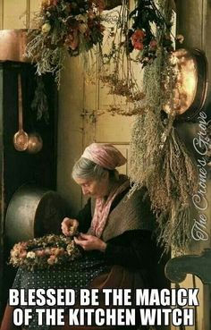 Kinda like the idea that this is where I practice my craft. Daily creativity = cooking, maybe with a little magick.