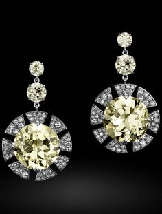 Carnet Jewellery: Sunburst earrings in platinum, with light yellow and white diamonds.  Michelle Ong's flights of fancy As jewellery designer Michelle Ong celebrates her 25th anniversary in business, we take a closer look at some of her exquisite creations.