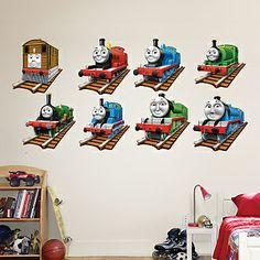 thomas the tank engine fathead thomas the train decor