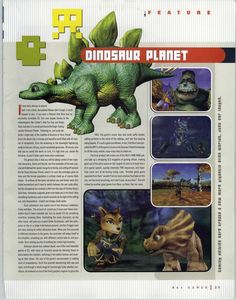 N64 Gamer #30, August 2000 - A look way back to E32000! One of the games shown was Dinosaur Planet, which eventually turned into Starf...