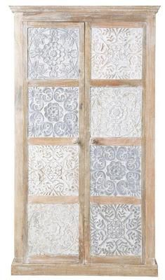 armoire indienne blanche udaipur maisons du monde dco inspirations pinterest interiors decoration and oriental