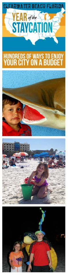Clearwater Beach Florida Staycation ideas from BargainBriana