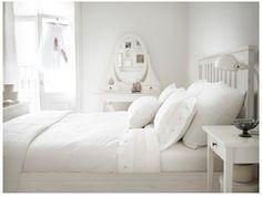 Bedroom white Gray neutral habitación blanco gris neutro
