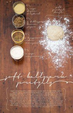 Pretzel Recipe Art