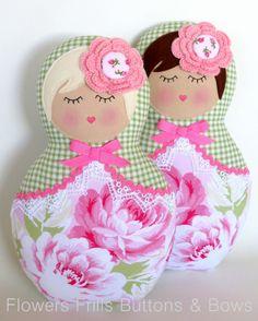 Image of Babushka Dolly - Sunshine Roses $50.00