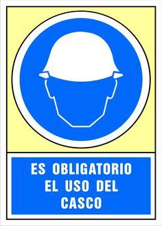 Señal es obligatorio el uso de casco