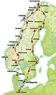 ACSI rondreis met de camper door Noorwegen