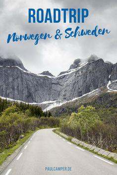 Roadtrip durch Norwegen und Schweden: Die perfekte Rundreise durch Skandinavien mit dem Wohnmobil zum Nachreisen