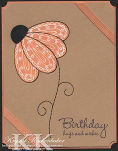 Pick a Petal by KrystalRK - Cards and Paper Crafts at Splitcoaststampers