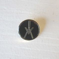 Metal pin with Iceage logo cm. Metal Pins, Patches, Enamel, Accessories, Logos, Isomalt, Vitreous Enamel, Enamels, Ornament