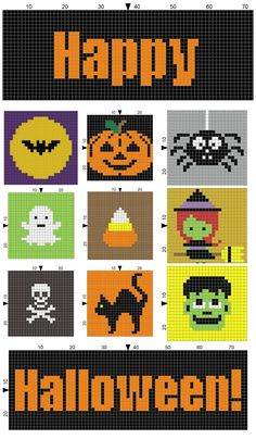 SPRE: Patterns & Design: Finishing your Halloween Block Blanket