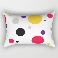 "Our Rectangular Pillow is the ultimate decorative accent to any room. Made from 100% spun polyester poplin fabric, these ""lumbar"" pillows feature a double-sided print and are finished with a concealed zipper for an ideal contemporary look. Includes faux down insert. Available in small, medium, large and x-large. Lumbar Pillow, Throw Pillows, Poplin Fabric, Accent Decor, It Is Finished, Zipper, Contemporary, Medium, Room"