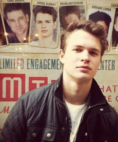 Ansel with another poster he was on