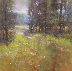 Deschutes Trail by Richard McKinley Pastel ~ 12 x 12