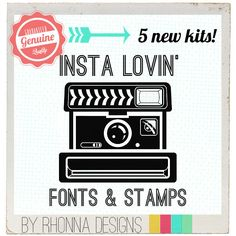 Instagram + Rhonna Designs + Phonto = cReative FUN!  I bought my kit and I ADORE IT!!!!!  @Rhonna Farrer you are my HERO!!