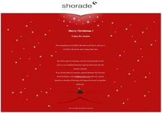 Seasons Greetings from all at Shorade!!!