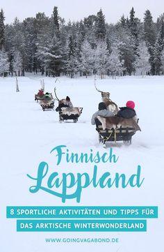 Finnisch Lappland im Winter gehört definitiv zu den Reisezielen, von denen ich nicht erwartet hatte, sie irgendwann einmal entdecken zu dürfen. Mit seinem leuchtend weißen Schnee, den Huskies und Rentieren, dem Blaubeersaft, den Wollpullis und dem ganzen arktischen Lebensstil, hat mich dieses Winterwunderland wirklich verzaubert.
