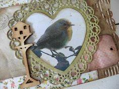 Noor! design hart door Elly