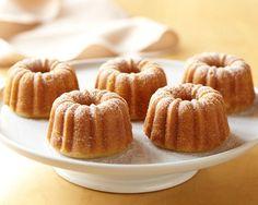 Nordic Ware Mini Bundt Cake Pan #williamssonoma To make mini Hershey Bar cakes
