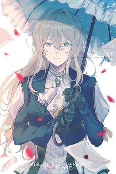 Cool Anime Girl, Beautiful Anime Girl, Kawaii Anime Girl, Anime Art Girl, Character Design Girl, Character Art, Manga Girl, Manga Anime, Violet Evergreen