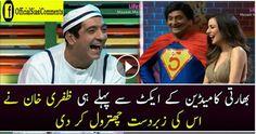 Zafri Khan Insults Indian Comedian Amazing