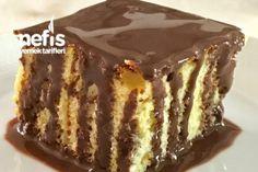 Çikolata Soslu Portakallı Nemli Kek Tarifi